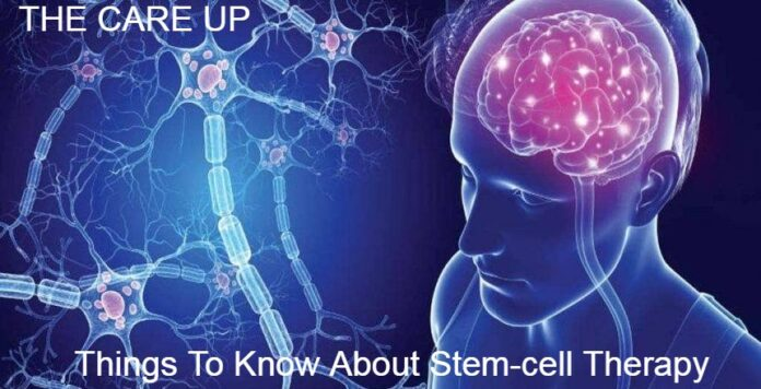 Things To Know About Stem-cell Therapy